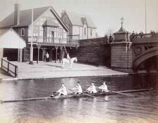 Christ's Boathouse 1887